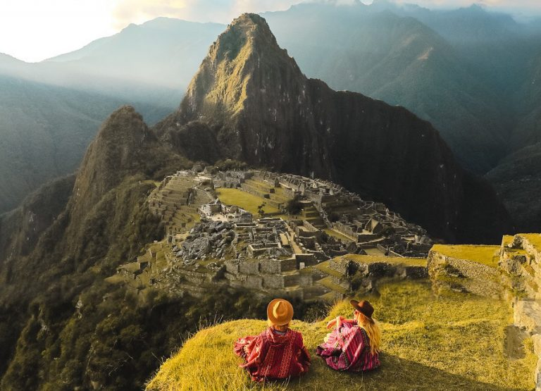 Take a tour of Machu Picchu