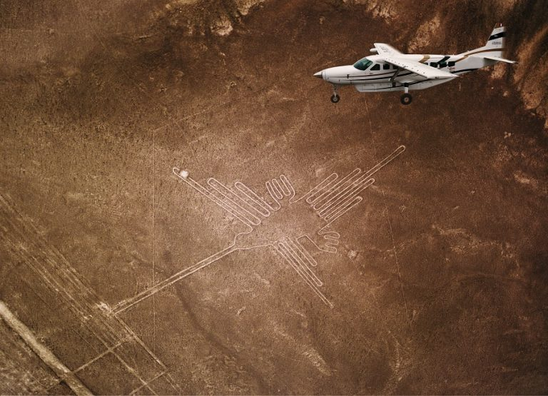 Nazca Lines and Luxury Yacht
