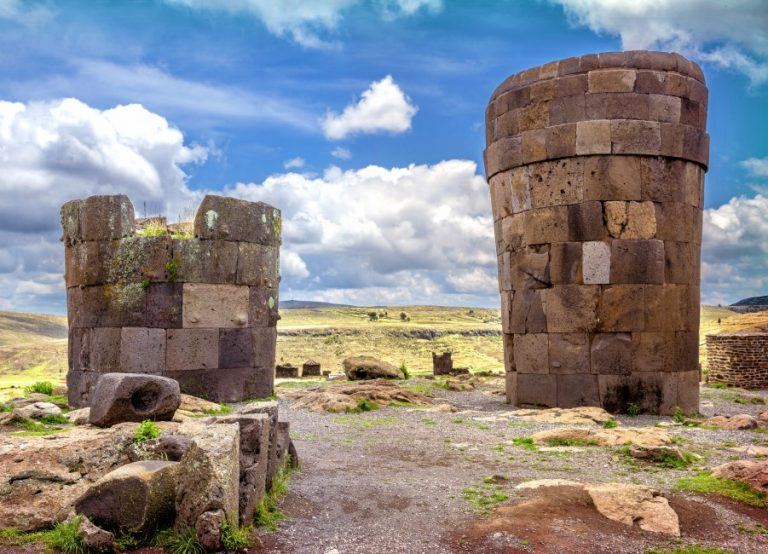 Visit Sillustani and travel to Arequipa