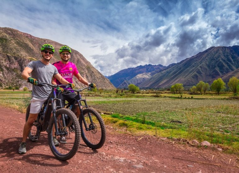 E-biking in the Sacred Valley